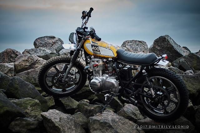 Kawasaki KZ440 By Psycho Chopps Hell Kustom