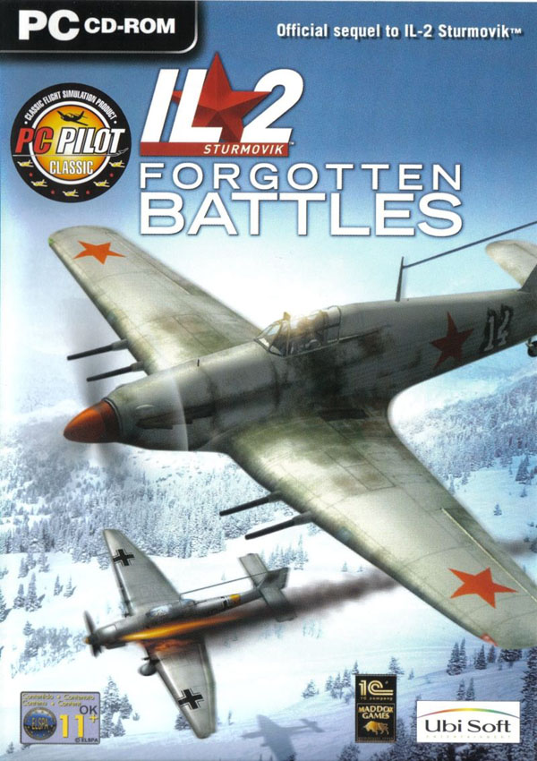 IL 2 Sturmovik Forgotten Battles Download Cover Free Game