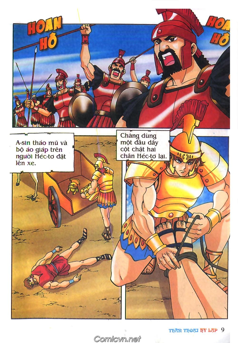Thần Thoại Hy Lạp Màu - Chapter 62: Hector tử trận - Pic 9