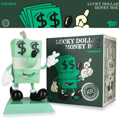 Lucky Money Dollar Vinyl Figure Bank by Jeremyville x Kidrobot