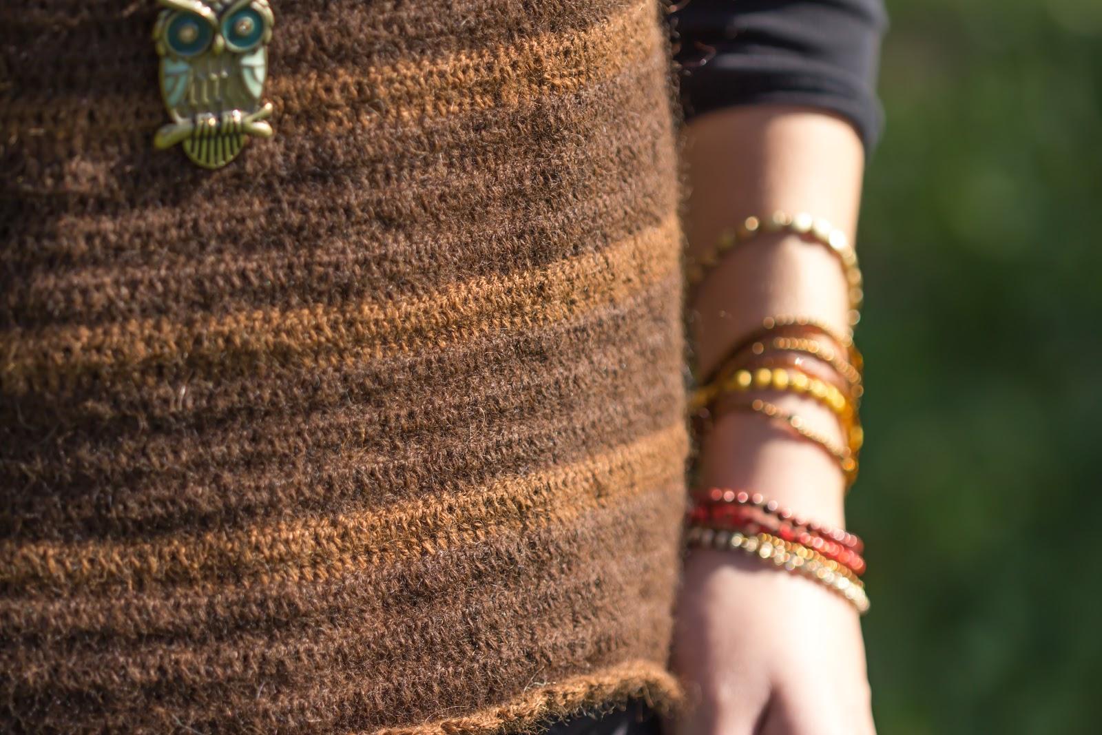 DIY - Gehäkelter Pullover mit Streifenmuster - do it yourself - Kleidung selber häkeln - Streifenpulli