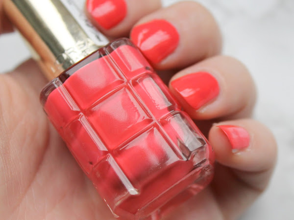 L'oréal Color Riche Oil Infused Nail Polish 440 Chérie Macaron