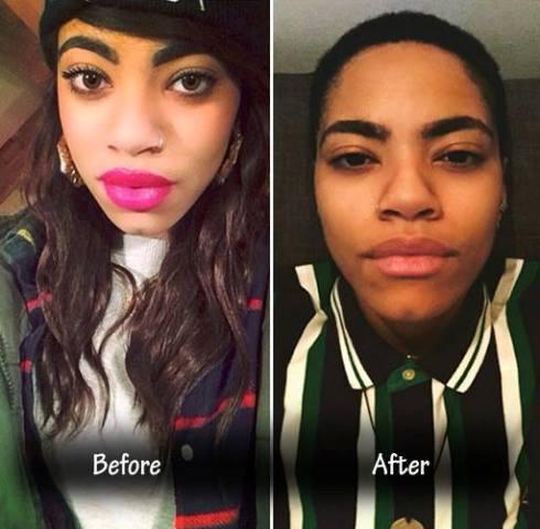 girl becoming a man