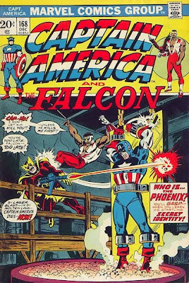 Captain America and the Falcon #168
