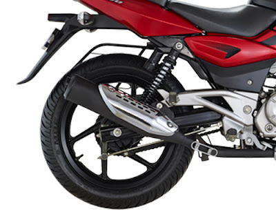 New Bajaj Pulsar 150 rear wheel