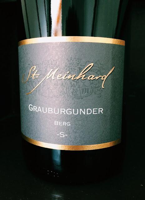 Grauburgunder aus dem Weingut St. Meinhard aus Bad Kreuznach an der Nahe