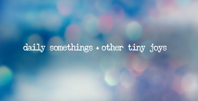 daily somethings + other tiny joys
