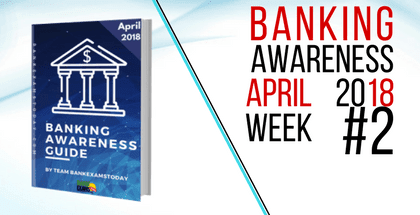 Banking and Financial Awareness April 2018: Week 2