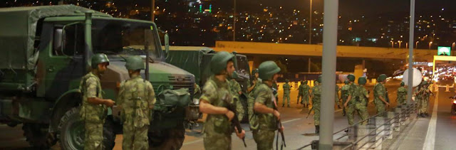 Turquía en un Golpe de Estado