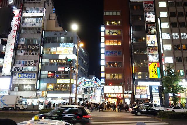Tokyo Travel: Shinjuku at night