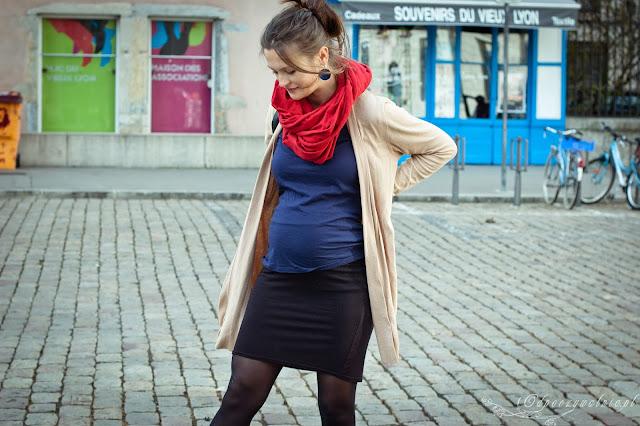 stylizacje ciążowe, sukienka ciążowa, jak dobrze wyglądać w ciąży