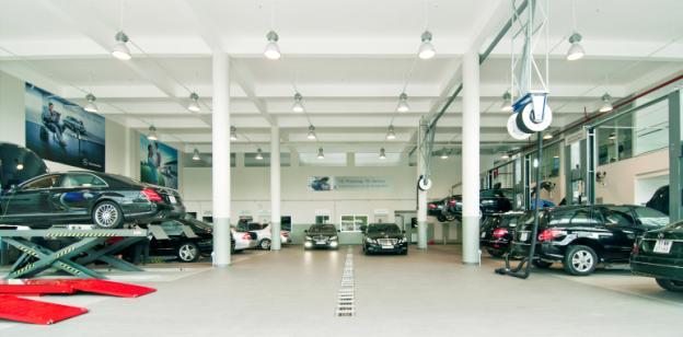 Mercedes Phú Mỹ Hưng có chất lượng dịch vụ 5 sao