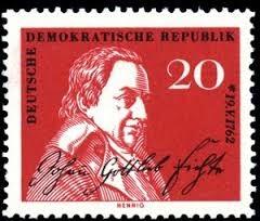 Resultado de imagem para selo de Johann Gottlieb Fichte