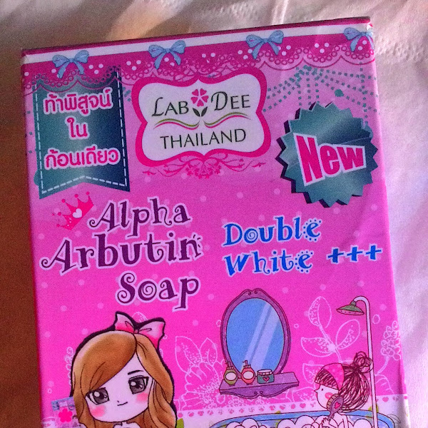 Review: Lab Dee Alpha Arbutin Double White++ Soap