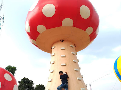 funtopia balloon park bandung