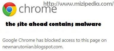 Cara Atasi Blog Terdetek Malware Oleh Google