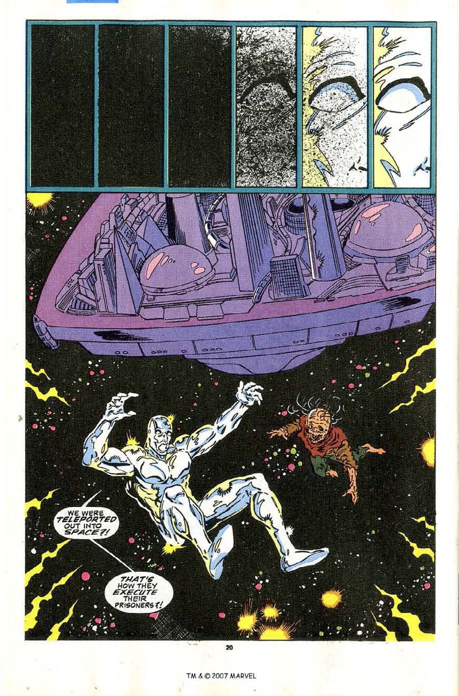 Read online Silver Surfer (1987) comic -  Issue #43 - 22