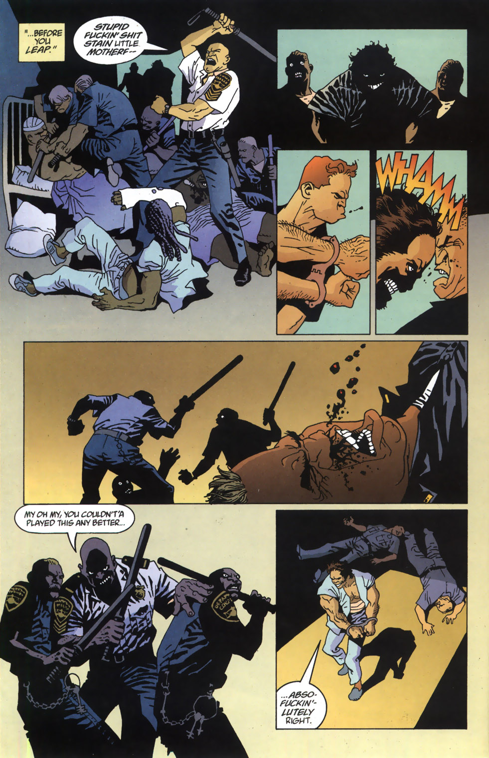 Read online 100 Bullets comic -  Issue #46 - 20