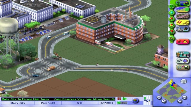 Download SimCity 3000 PC Gameplay