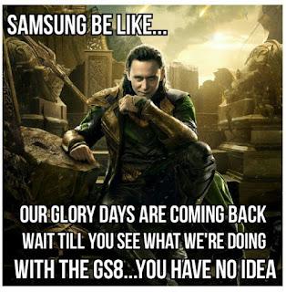 samsung s8 meme