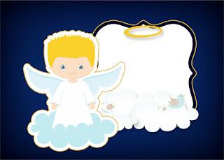 ángel Rubio Invitaciones Para Primera Comunión De Niño