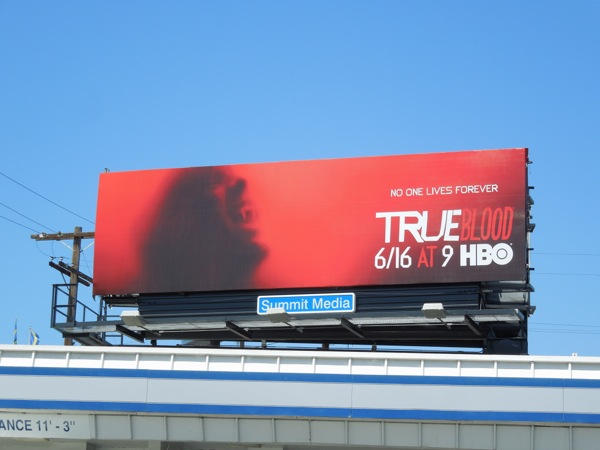 True Blood 6 billboard