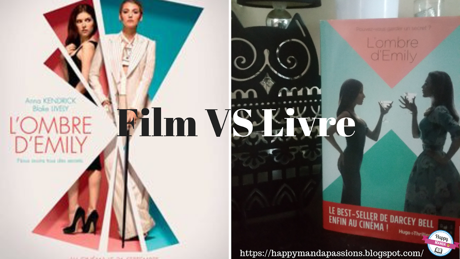 La Chambre Secrete Film Disparue Ou L Ombre D Emily Darcey Bell Film Vs Livre Happy