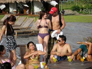 What Rufa mae quinto in a thong bikini