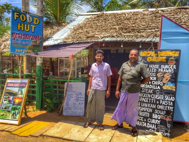 Food Hut in Arugam Bay