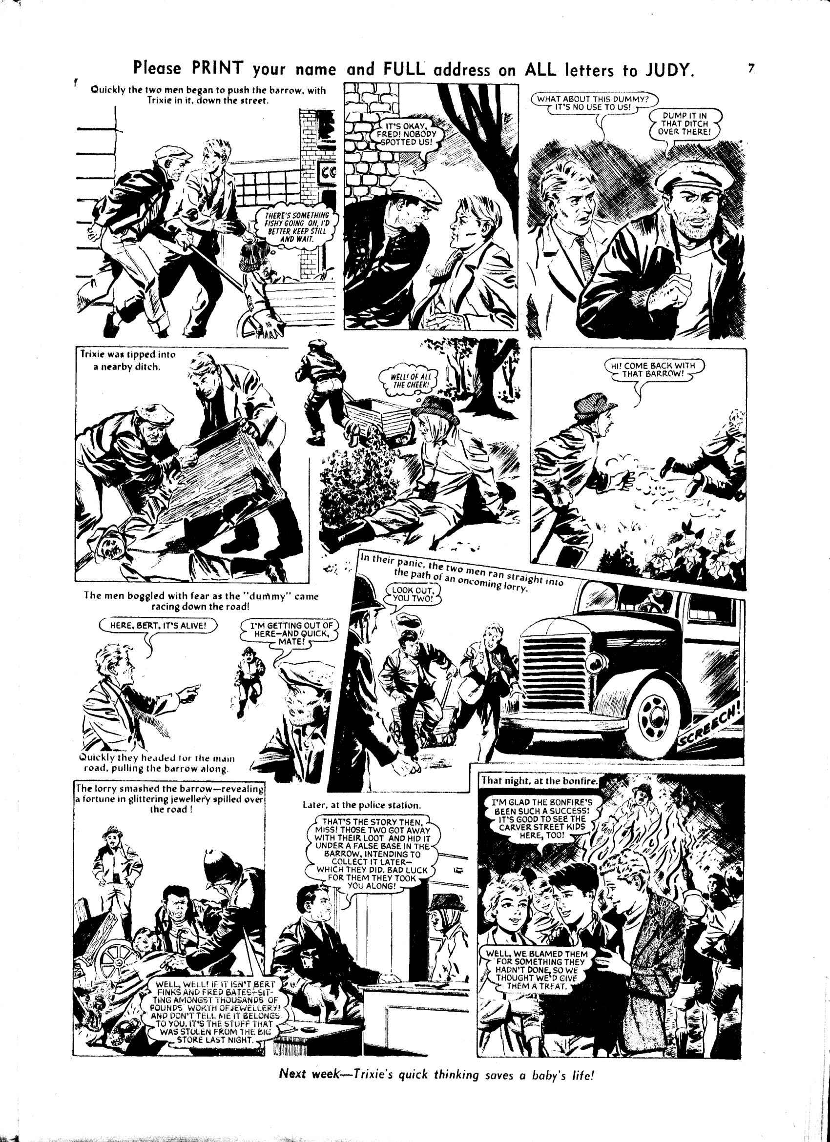 Read online Judy comic -  Issue #48 - 7