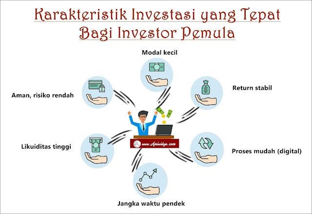 Karakteristik investasi bagi pemula