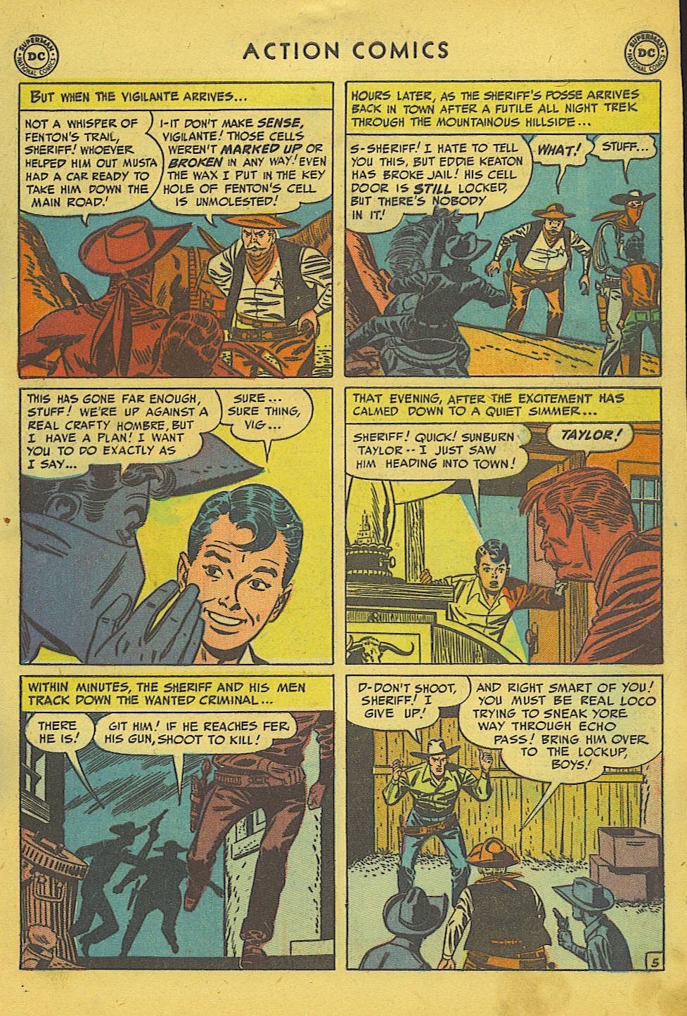 Read online Action Comics (1938) comic -  Issue #157 - 35
