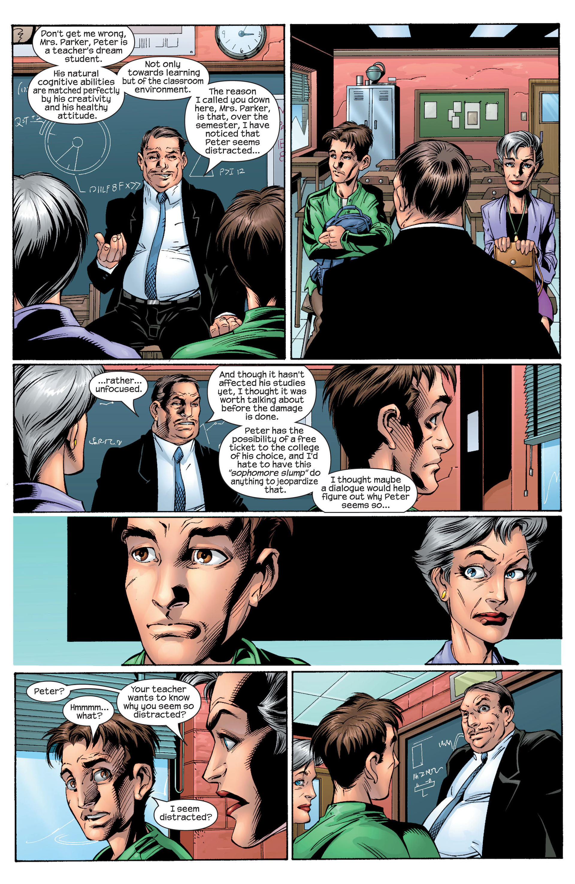 Read online Ultimate Spider-Man (2000) comic -  Issue #28 - 9