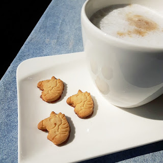 Kaffeepause in der Sonne