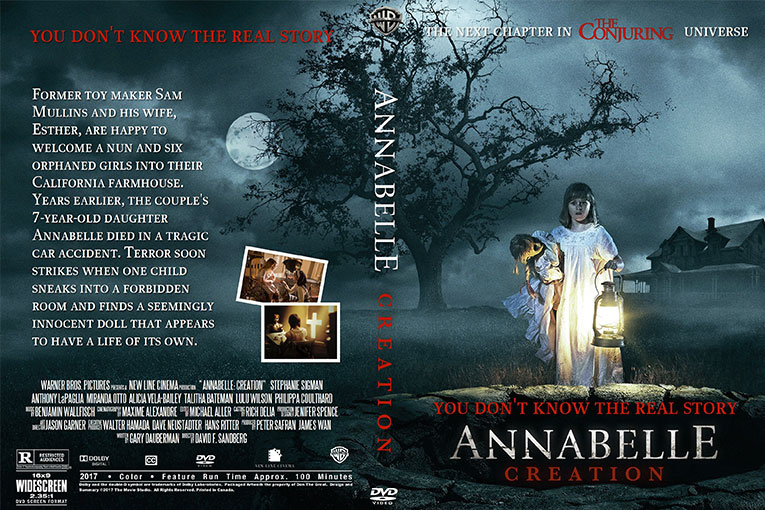 Annabelle Creation (2017) 720p BrRip [Dual Audio] [Hindi 5.1+English]