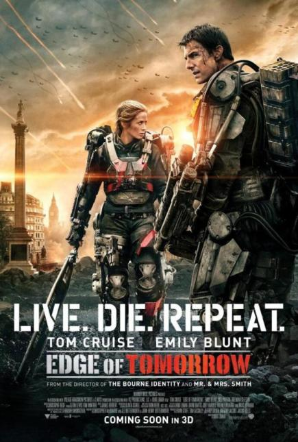 """Edge of Tomorrow (2014)"" movie review by Glen Tripollo"