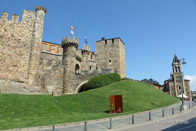 Castillo de Ponferrada e Iglesia de San Andrés