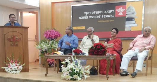 Jatinder Parwaaz in Young Writers festival 2015
