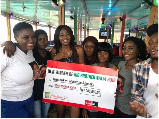 bbnaija-ahneeka's-fans-presents-N10million-to-her