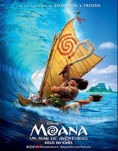 Moana (Vaiana) (2016) [DVDRip] [1 Link] [Castellano] [Mega]