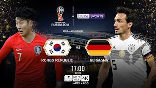 موعد مباراة ألمانيا وكوريا الجنوبية اليوم الأربعاء 27-6-2018
