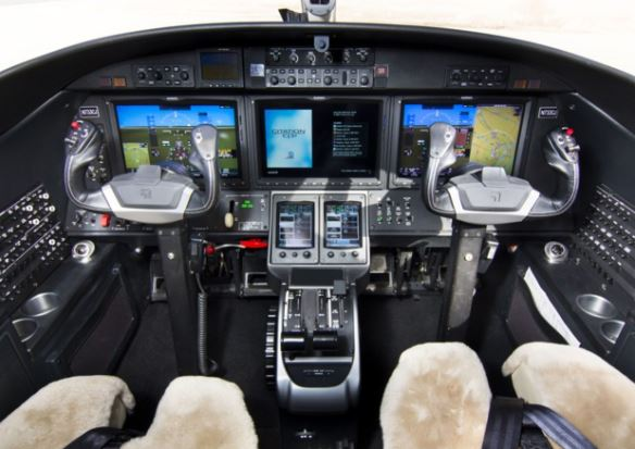 Cessna Citation CJ3+ cockpit