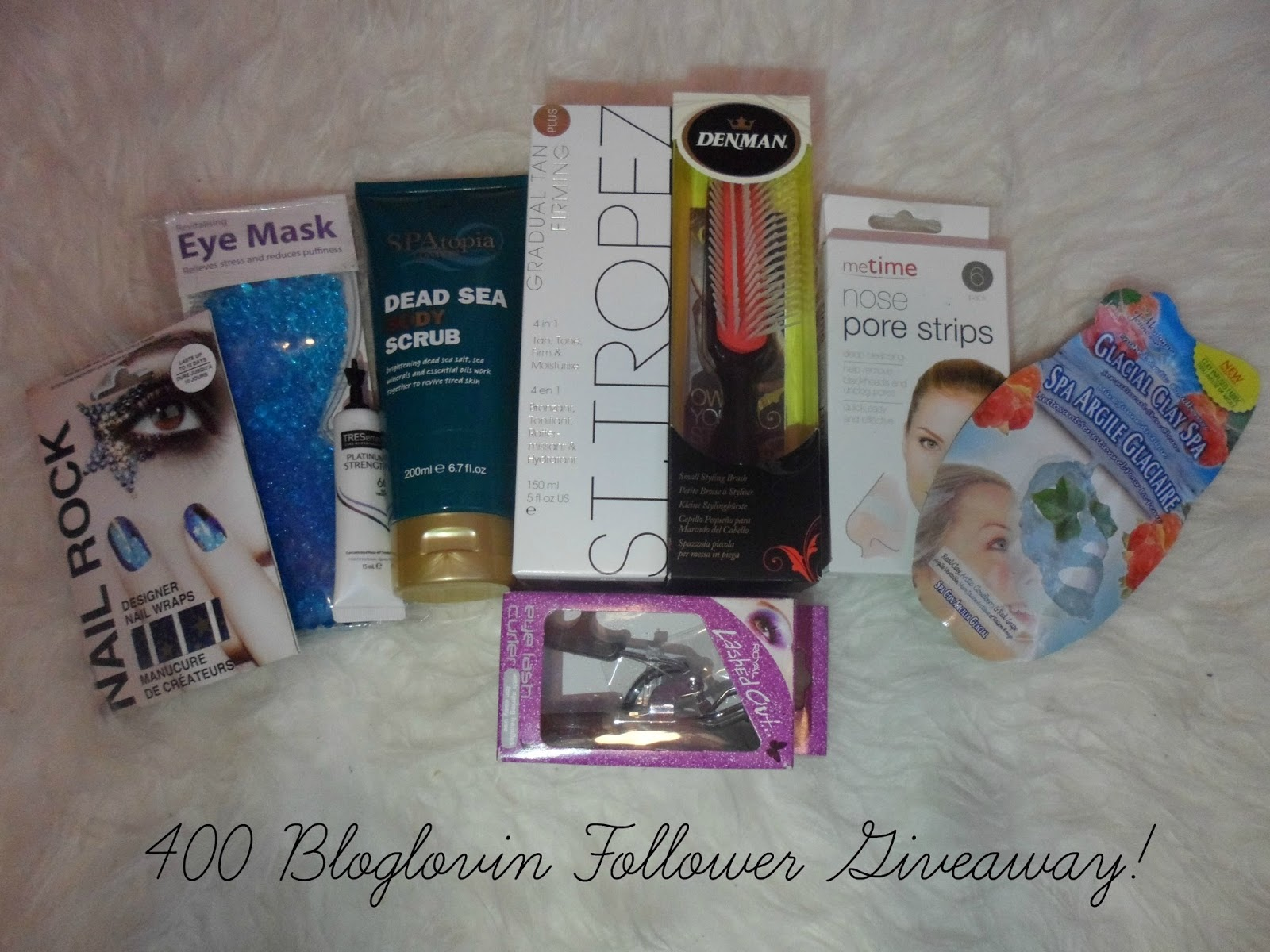 400 BLOGLOVIN FOLLOWER GIVEAWAY