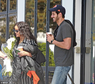 Rihanna and her boo billionaire Hassan Jameel seem so happy together
