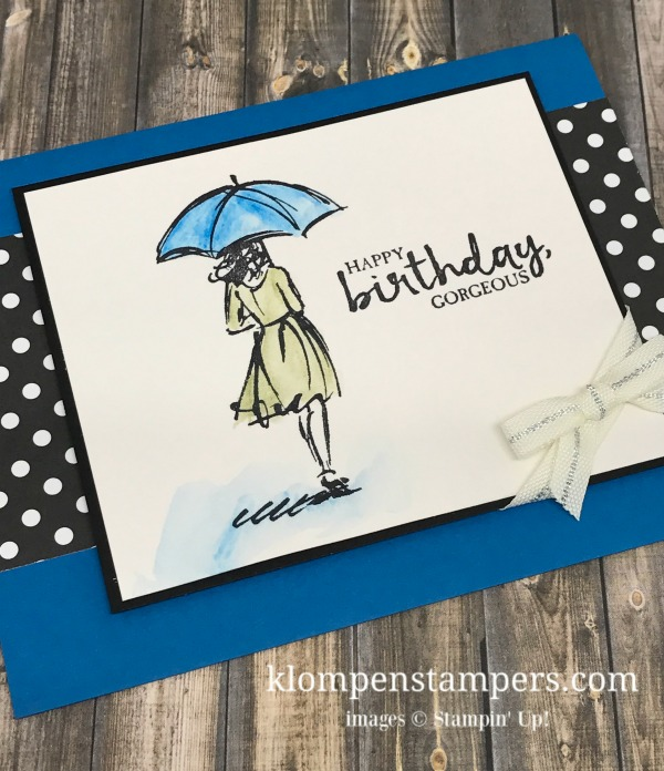28 Days Of Birthday Card Last Day Klompen Stampers