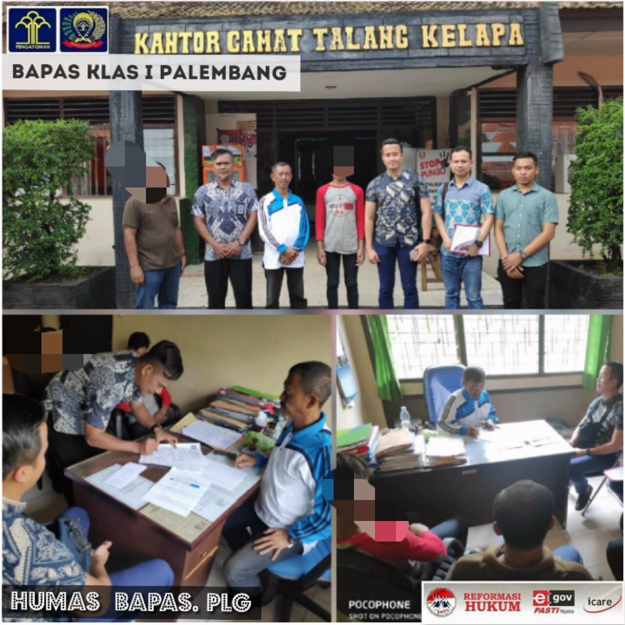Pendampingan Diversi Abh Di Kantor Camat Talang Kelapa Balai Pemasyarakatan Kelas I Palembang