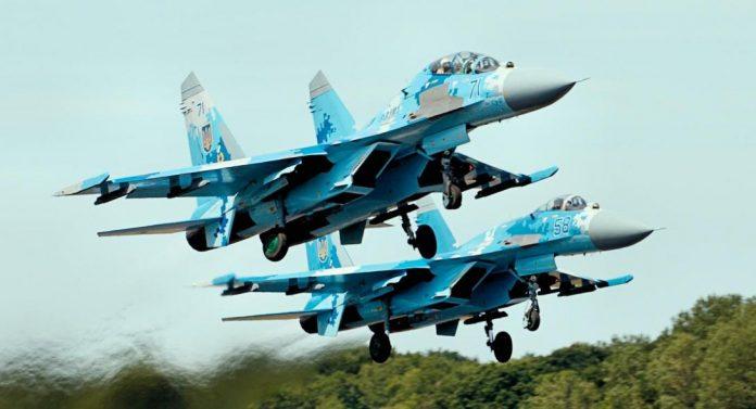 Συντριβή Su-27 στην Α. Ουκρανία – Νεκρός ο πιλότος – Μυρίζει μπαρούτι στην περιοχή
