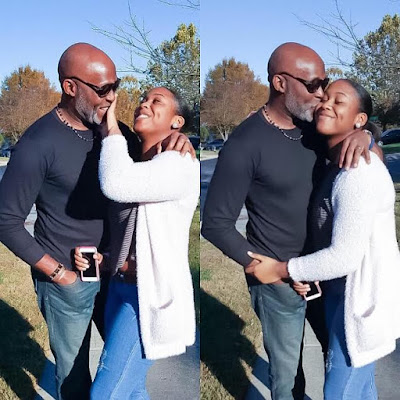 Cute photos of Richard Mofe-Damijo & his daughter
