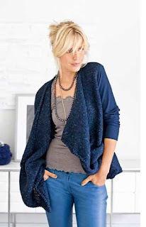 Fabric and Knitting, cardy