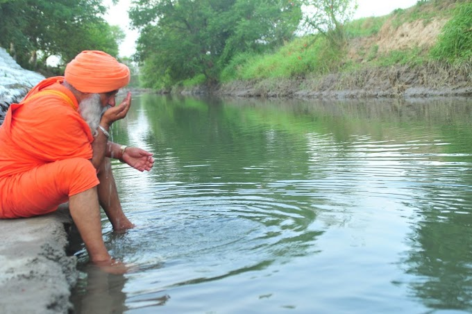 None of the party has made water pollution a political issue -Sant Seechewal